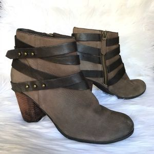 { Nordstrom BP } Train Wrap Bootie Sz 7
